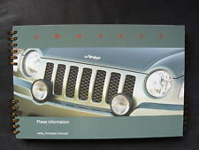 Jeep Compass & Patriot Concept - Pressemappe press-kit IAA Frankfurt 2005