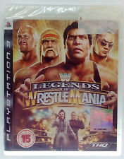WWF WWE LEGENDS OF WRESTLEMANIA PS3 PLAYSTATION 3 THREE PAL BRAND NEW & SEALED