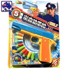 Child Semi-automatic Pistol Plastic Toy Gun Police Weapon 10 Bullets GWGU43503