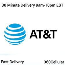 10 - At&T | Att Prepaid Numbers For / To Port! Bulk Quantity Fast Delivery!