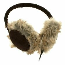 KitSound Headphones Earphones Earmuffs iPod, iPhone, MP3 Faux Fur Fluffy