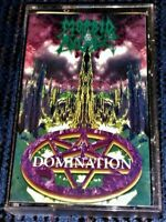 Morbid Angel - Domination. Mint Cassette Tape Plays Well *Rare* Metal Mind