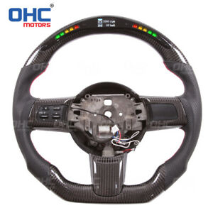 LED Performance Steering Wheel for Mazda RX8 + CARBON FIBER Great Performance