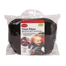 Clippasafe Secure Belt Travel Pillow for Age 1 - 3 Black