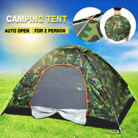 2 Person Waterproof Tents Automatic Quick Open POP UP Outdoors Portable Shelter
