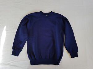 School uniform sweatshirt v-neck and round neck