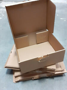 Cardboard Boxes Packaging Shipping postage x 7 joblot medium storage NEW
