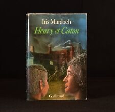 1980 Henry et Caton Iris Murdoch French Language Edition Signed
