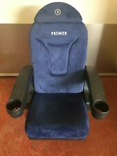 Home cinema seating - Blue Fixed Base Chair