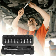 Torque Wrench 14 Inch Socket Set With Extension Bar And Protective Storage Box