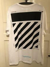 Off White T Shirt weiß M oversize fitted L 100% original Virgil Abloh