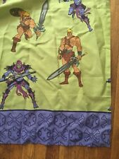 Vintage He Man Skeletor Masters of the Universe Twin Sheet Set  Fabric