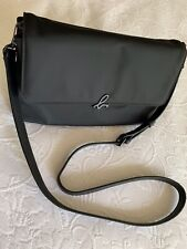 Vintage Agnes b Black Crossbody Shoulder Handbag