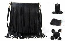 Women Fringe Tassel Cross Body Bag Leisure Shoulder Bag