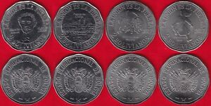 "Bolivia set of 4 coins: 2 bolivianos 2017 ""Territorial claims, Chile"" UNC"