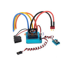 120A Sensored Brushless Speed Controller ESC per 1/8 1/10 1/12 RC Auto