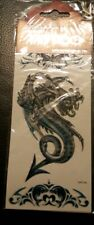 Temporary Glitter tattoos ( Blue Dragon)