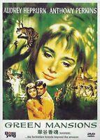Green Mansions - Audrey Hepburn, Anthony Perkins - UK Compatible Region Free DVD
