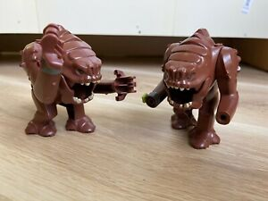 LEGO - Star Wars - RANCOR X2 Figures - Incomplete
