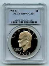 1978 S $1 Ike Eisenhower Dollar Proof PCGS PR69DCAM