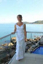 Unbranded Crystal/Diamante Cap Sleeve Wedding Dresses