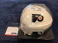 Jeff Carter Philadelphia Flyers NHL Signed Mini Helmet PSA/DNA Authenticated