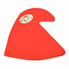 RED GNOME SMURF HAT FANCY DRESS COSTUME DWARF ADULT FANCY DRESS ACCESSORIES