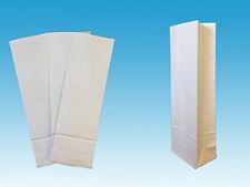 "1000 x 1.5kg White Block Bottom Flour Bags. 114 x 315 x 76 mm (4.5"" x 12.4"" x 3"""