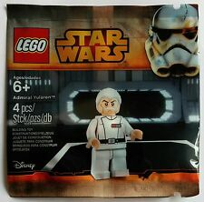 Lego ® Star Wars ™ 5002947 el almirante yularen Promo personaje nuevo con embalaje original rara vez limitado
