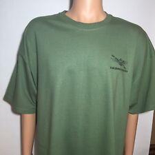 Tailhook Marines in WW II, Men's Olive Green T-Shirt, SIZE XXL