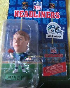 Rick Mirer Corinthian Headliners Seattle Seahawks 1996 NFL