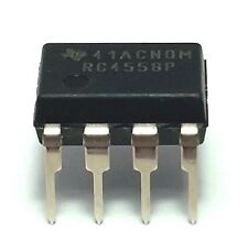 1PCS Texas Instruments RC4558P RC4558 Dual Operational Amplifier DIP-8 - New IC