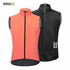 Men's Cycling Vest Sleeveless Reflective Summer Vest Light and Breathable