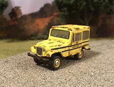 1975 Jeep DJ-5 Custom Weathered Rusty Barn Find 1/64 Diecast Rust School Jeep