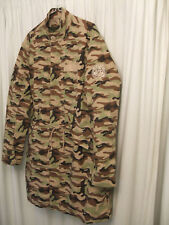 Pretty Green Deansgate Camouflage Parka Size Small  New w/o tags. Liam Gallagher