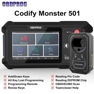 OBDPROG 501 Auto IMMO Key Programmer Remote Key Master EEPROM version EU