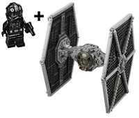 LEGO STAR WARS 75211 IMPERIAL TIE FIGHTER BUILD ONLY & TIE PILOT MINIFIGURE
