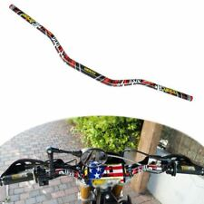 "1 1/8"" 28mm Grafitti Taper Fat Bar Handlebar Honda Yamaha KTM MX Enduro Dirtbike"