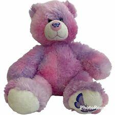 Build A Bear Friend Fur All Seasons Summer Butterfly Pink Sparkly Teddy Bear