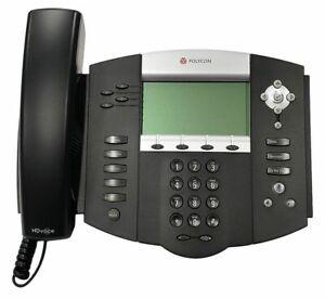NEW Polycom SoundPoint IP 550 POE Four-Line SIP Phone