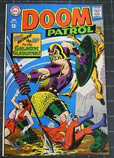 DOOM PATROL 1967 #116 GLOSSY VF-- BEAUTIFUL MUTANT MARTIANS+THE GLADIATOR!!