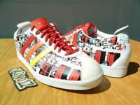 """DS 2006 Adidas Originals Gazelle Vintage """"TOKYO SKYLINE"""" Men's 10.5 white/red"""