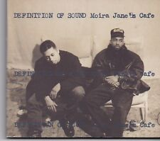 Definition Of Sound-Moira Jane s Cafe cd maxi single digipack
