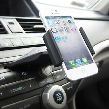 Car Auto CD Slot Mount Cradle Holder Stand For Mobile Smart-Cell Phone GPSBLBD