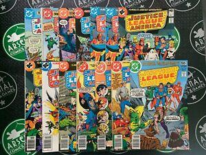 Justice League of America Lot of 19 (#150-186) DC Batman Wonder Woman Zatanna