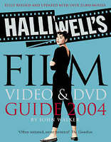 """""""VERY GOOD"""" Halliwell's Film, Video and DVD Guide 2004, , Book"""