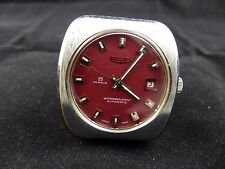 Great Rare Vintage  Sicura by Breitling Automatic Amazing face color  25 jewels