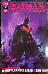 DC Comics, Batman: Urban Legends #7 Francesco Mattina Variant (Cover A, NM)Lot