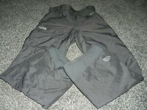 MEN'S THE NORTH FACE HYVENT GRAY SKIING SNOWBOARDING OUTDOOR PANTS SIZE MEDIUM
