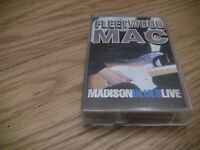 Fleetwood Mac Madison Blues Live Cassette Tape Rock and Roll Music